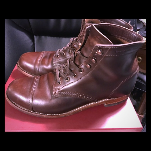 4692a6f558c Wolverine 1000 Mile Boot Havana Brown